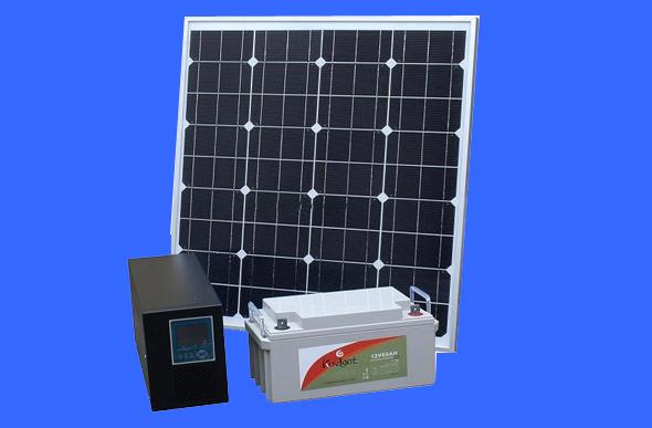 自制家用太阳能发电照明系统   自制太阳能电池